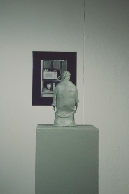 microwave sculpture and picture