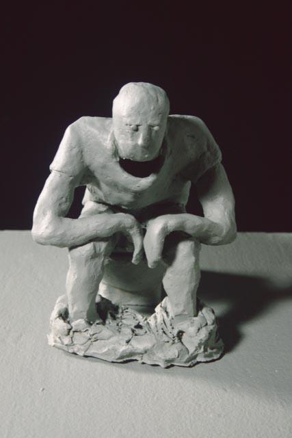 toilet sculpture